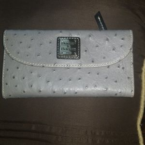 Dooney & Bourke Ostrich Wallet.